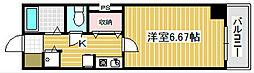 ル・パピヨン[3階]の間取り