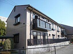 広島県広島市安佐南区川内5丁目の賃貸アパートの外観