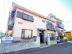 東京都東大和市南街5丁目の賃貸アパートの外観
