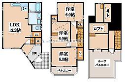 [一戸建] 大阪府東大阪市長田2丁目 の賃貸【/】の間取り