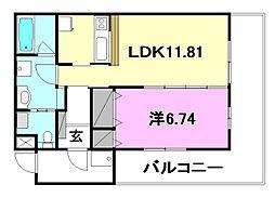 BOWマンション[306 号室号室]の間取り
