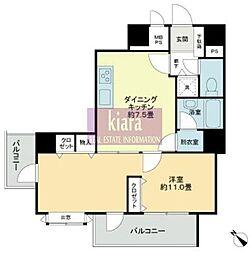 ライオンズマンション横浜ポートビュー[5階]の間取り