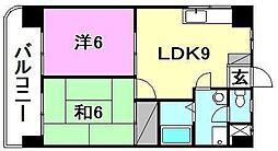第五中村ビル[301号室]の間取り
