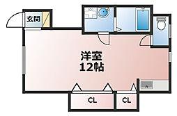 MASUDAアパートメント[1階]の間取り