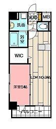 シエラ北方 6階1LDKの間取り