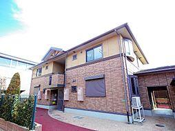 東京都練馬区大泉学園町5丁目の賃貸アパートの外観