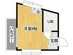ドリームマンション鹿島田[1階]の間取り