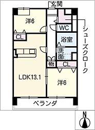 仮)菰口71新築マンション[4階]の間取り