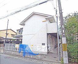 京都府京都市左京区松ケ崎井出ケ海道町の賃貸アパートの外観