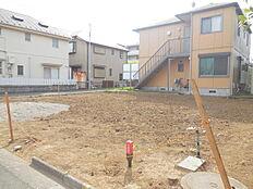 敷地面積広々45坪以上。建築条件無し売地、限定1区画。こだわりのマイホーム。