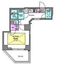 シティレジデンスA3木場[5階]の間取り