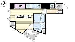 CARINO KOMAGOME[2階]の間取り