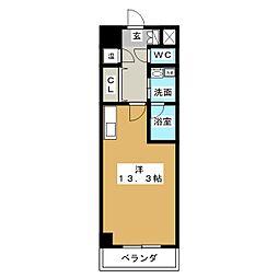 マリオン千種[10階]の間取り