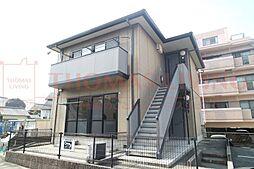 福岡県大野城市大城3丁目の賃貸アパートの外観
