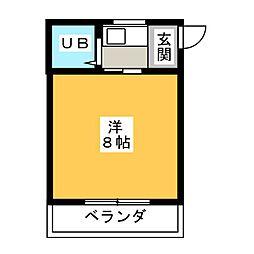 大仁マンション[2階]の間取り