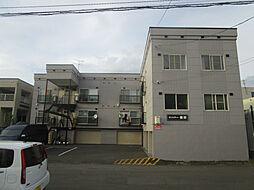 北海道札幌市北区篠路四条7丁目の賃貸アパートの外観