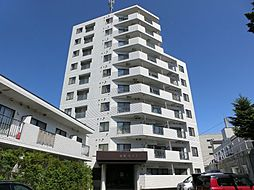 北海道札幌市白石区本通9丁目北の賃貸マンションの外観