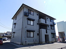 山口県山陽小野田市中川3丁目の賃貸アパートの外観
