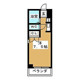 新栄ロイヤルビル[6階]の間取り
