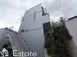 愛知県名古屋市中川区松ノ木町1丁目の賃貸アパートの外観