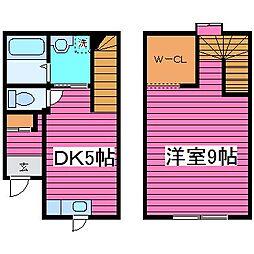 [テラスハウス] 北海道石狩市花川北六条3丁目 の賃貸【北海道 / 石狩市】の間取り