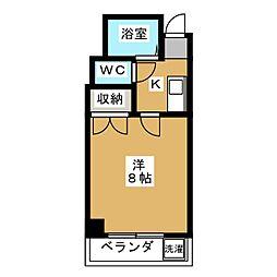 ドエル1号館S・Y[4階]の間取り
