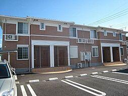 群馬県高崎市吉井町本郷の賃貸アパートの外観