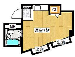 KIビル[2階]の間取り