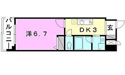 第11ドリームマンション[802 号室号室]の間取り