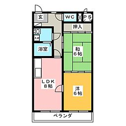 森ビル1[2階]の間取り
