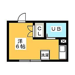 宮東荘[2階]の間取り