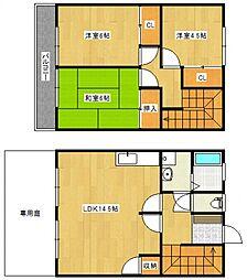 メゾンドール村田[1階]の間取り