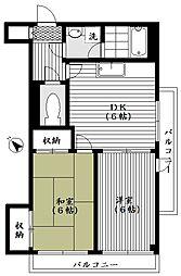 ライオンズマンション東長崎[2階]の間取り