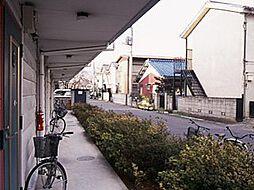 レオパレスNORTH SIDE[2階]の外観