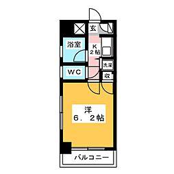 朝日プラザ博多VI[11階]の間取り