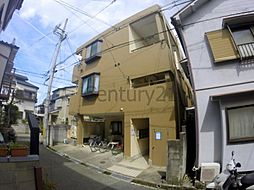 兵庫県川西市美園町の賃貸マンションの外観