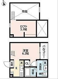 ラテール港栄 (ラテールコウエイ)[1階]の間取り