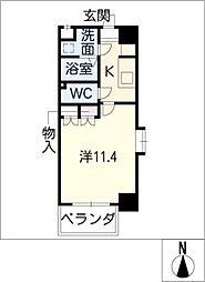 クピットガーデン千代田[7階]の間取り