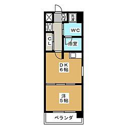 G‐Stage京都油小路[7階]の間取り