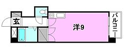 グランドハイム朝生田[205 号室号室]の間取り