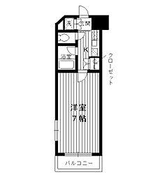 東京都板橋区小茂根4丁目の賃貸マンションの間取り