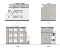 マツドシンデンハッピーハウス[301号室号室]の外観