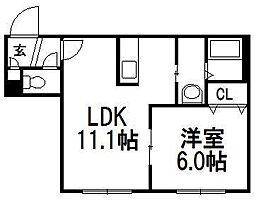 A BOND[4階]の間取り