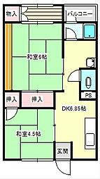 富士ビル[5階]の間取り