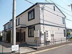 ミレニアム京葉B[2階]の外観
