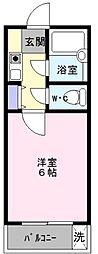 大阪府堺市西区鳳中町3丁の賃貸マンションの間取り