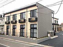 東京都葛飾区西水元4の賃貸アパートの外観