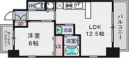 スプランディッド新大阪キャトル[8階]の間取り
