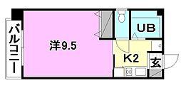 ドミールN竹原[402 号室号室]の間取り