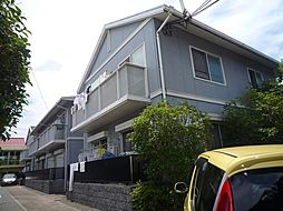 兵庫県宝塚市伊孑志2丁目の賃貸アパートの外観